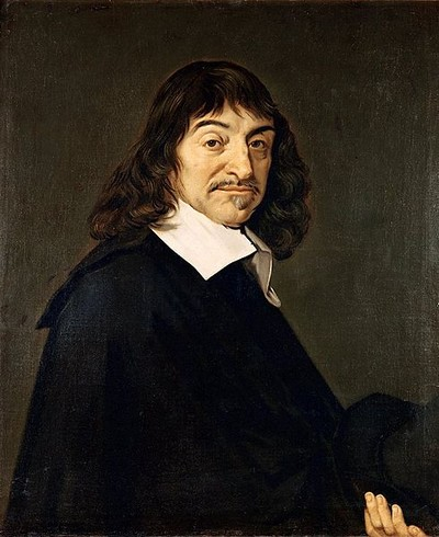 René Descartes in 1648 - Frans Hals
