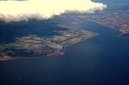 Luchtfoto van Urk - Foto: CC