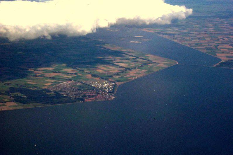 Luchtfoto van Urk