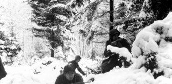 Duitsers en Amerikanen aten samen kerstmaal in 1944