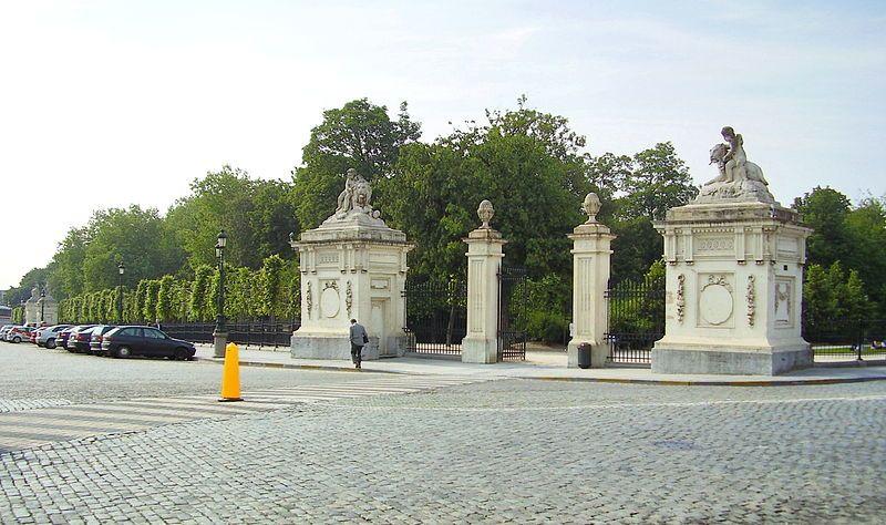 Ingang van het Warandepark