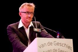 David van Reybrouck tijdens de Nacht van de Geschiedenis van 2010 - Foto: CC