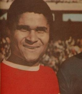 Eusébio als speler van Benfica