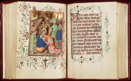 Getijden- en gebedenboek. Handschrift op perkament. Noordelijke Nederlanden, ca. 1438