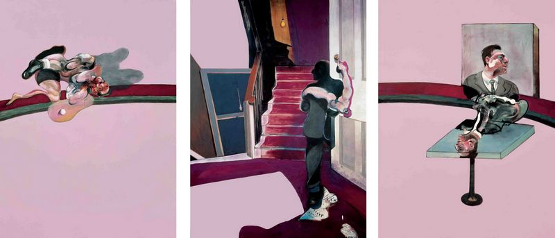 In Memory of George Dyer - Francis Bacon, 1971 (FONDATION BEYELER, Basel, Zwitserland)