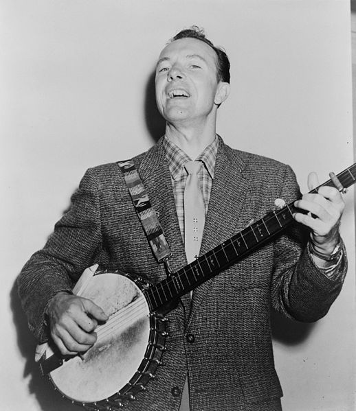 Pete Seeger in 1955