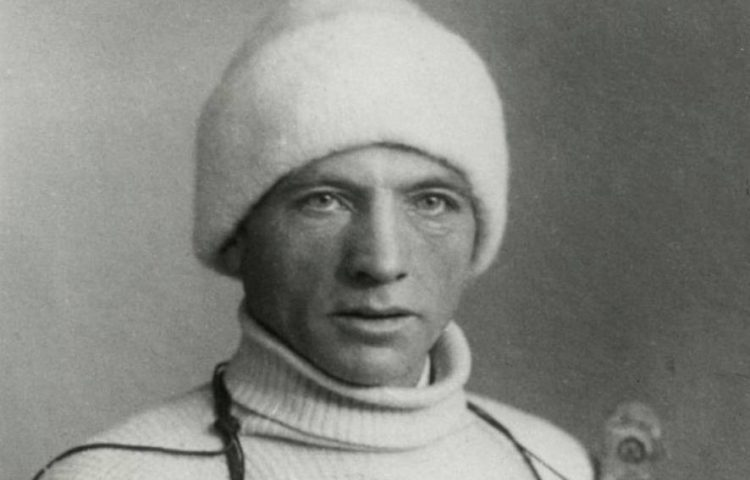 Karst Leemburg, winnaar van de Elfstedentocht van 1929