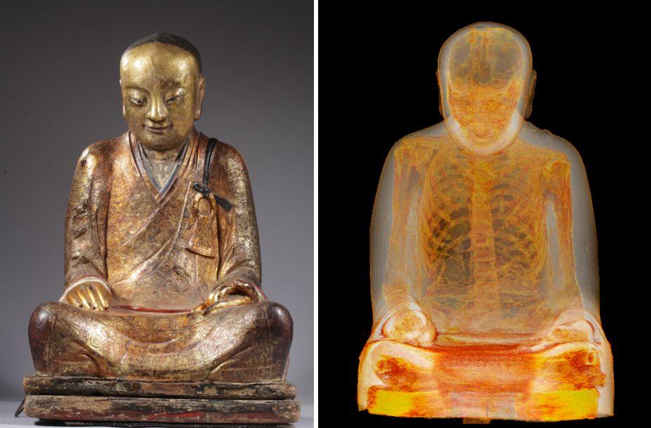 Boeddhamummie (Drents Museum)