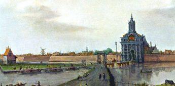 Oude stadsmuren en bastions van Amsterdam