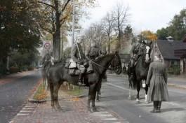 Fotomontage - Militairen in Barneveld