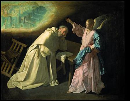 Francisco de Zurbarán, Saint Peter Nolasco's Vision, 1629