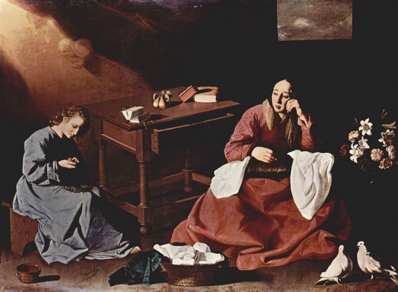Francisco de Zurbarán, The House of Nazareth, ca. 1644-1645