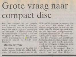 Bericht in ´De Waarheid´ van 25 februari 1983