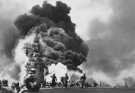 Kamikazeaanval op de USS Bunker Hill