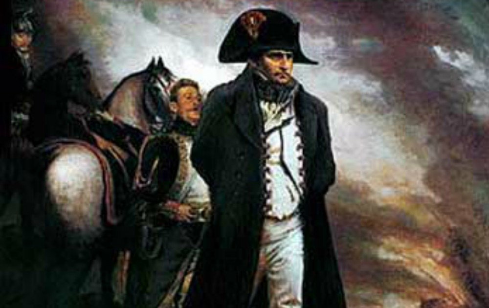 Napoleon in Waterloo