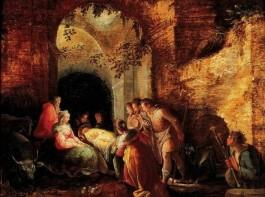 De aanbidding van de herders - Karel van Mander (Frans Hals Museum)