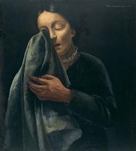Felix Nussbaum, Huilende vrouw, 1941