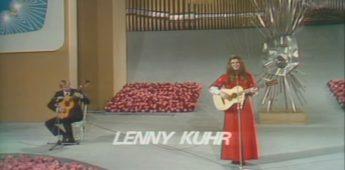 De merkwaardige Songfestival-overwinning van Lenny Kuhr