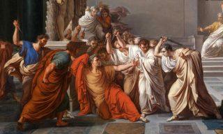 De moord op Caesar Vincenzo Camuccini, 1771-1844)