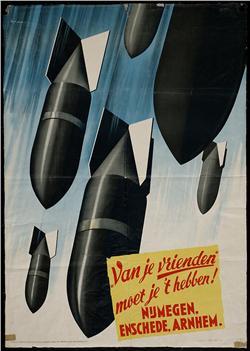 'Van je vrienden moet je 't hebben', suggereerde de Duitse propagandamachine na de gewelddadige dag. Op de bevolking maakte dat nauwelijks indruk. Die was 'Rotterdam 1940' niet vergeten.