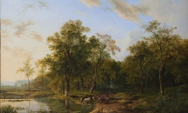 Barend Cornelis Koekkoek. Zomerlandschap, 1830. Collectie Teylers Museum