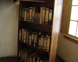 Boekenkast in het Anne Frank Huis