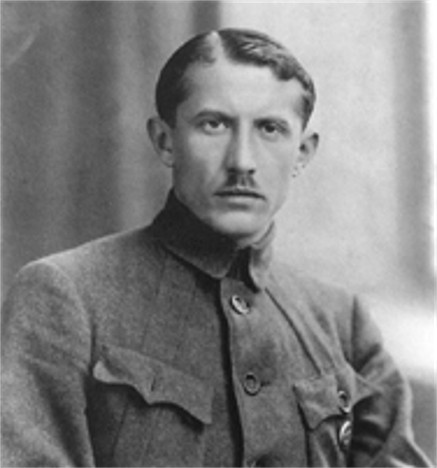 Yevhen Konovalets (1891-1938). (Internet Encyclopedia of Ukraine)