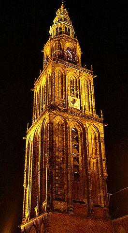 Martinitoren bij nacht (CC-Anton Rengers)