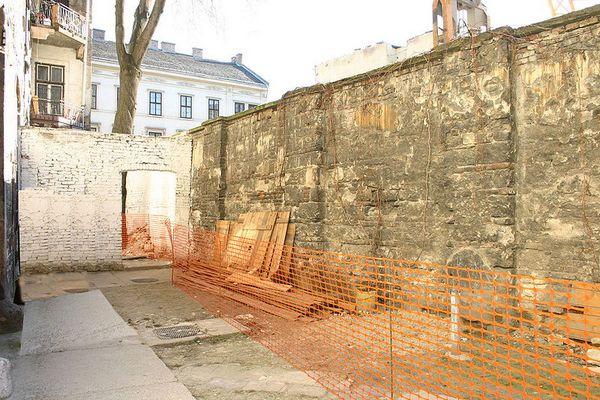 Muur van het getto van Boedapest