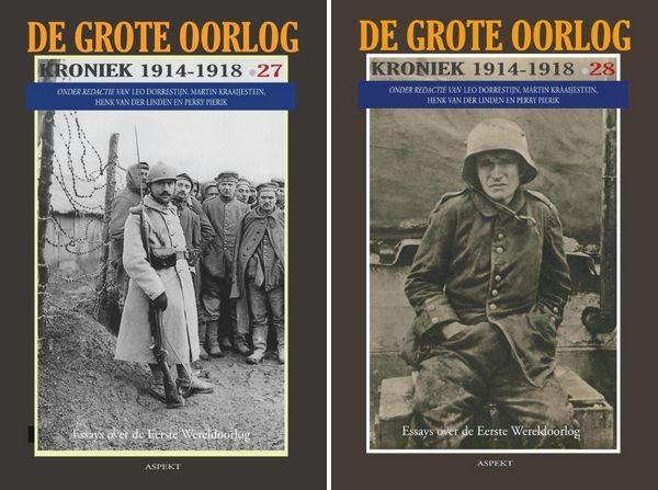 Nederland en WOI - twee nieuwe Kronieken