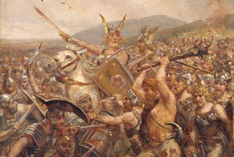 Slag bij het Teutoburgerwoud, 9 na Christus