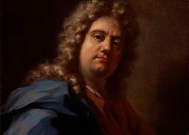 Zelfportret Pellegrini, ca. 1717 (National Portrait Gallery, Londen)