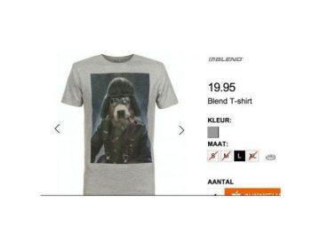 Het controversiële Wehrmacht-shirt