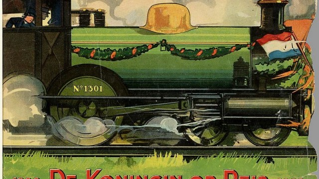 De koningin op reis, 1923 (KB)