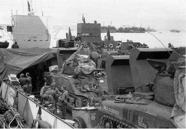 Fording kits op M4 Sherman