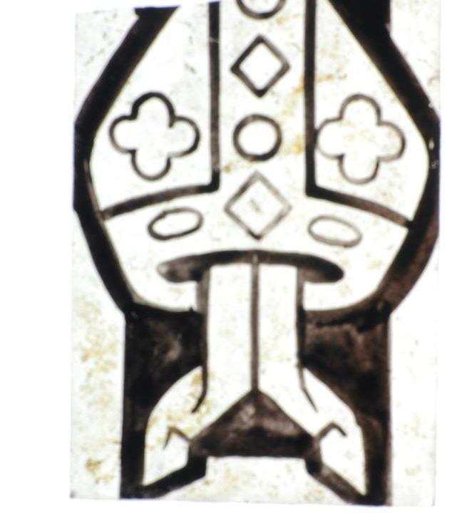 Glasfragment gevonden in Roermond