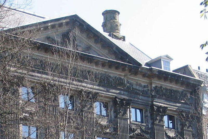 Trippenhuis in Amsterdam