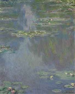 Waterlelies - Claude Monet, 1907