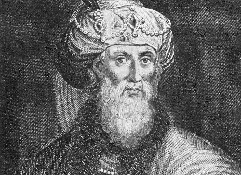 Geromantiseerde afbeelding van Flavius Josephus