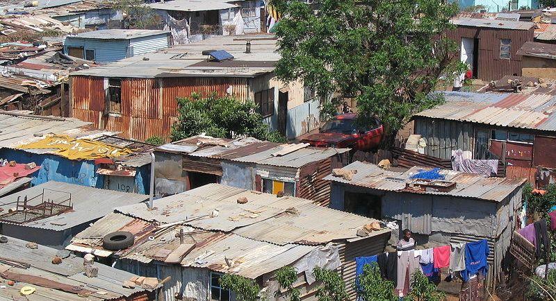 Krottenwijk in Soweto - cc