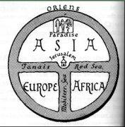T-O kaart van bisschop Isidor van Sevilla
