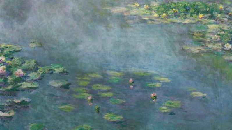 Waterlelies - Claude Monet, 1907 (Sotheby's)