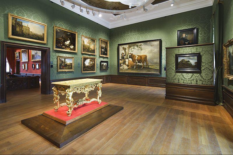Zaal met prominent 'De stier' van Potter (Ivo Hoekstra - Mauritshuis)