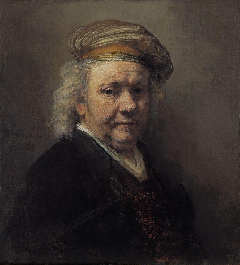 Zelfportret – Rembrandt van Rijn, 1669 (Mauritshuis)