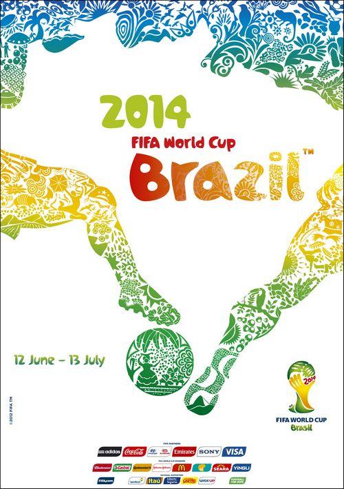 WK Voetbal van 2014 in Brazilië