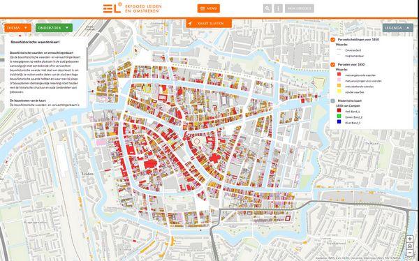 Cultuurhistorische Atlas (gemeente Leiden)