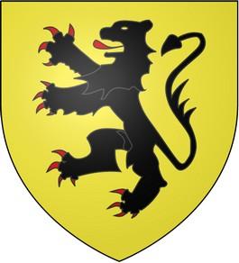 De Vlaamse Leeuw, zoals gevoerd in de Hoge Middeleeuwen. - cc