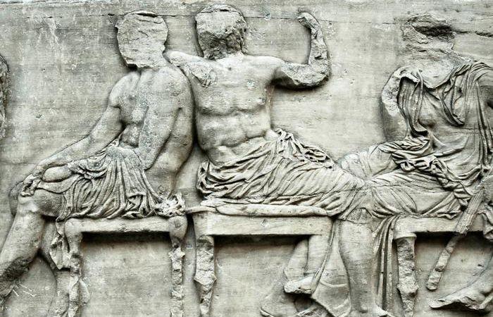 Detail van de Elgin Marbles (British Museum)