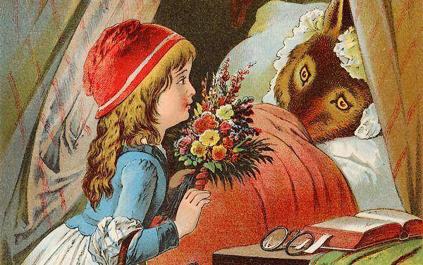 Ongebruikt Roodkapje: met vleesch en been verslonden | Historiek MT-54
