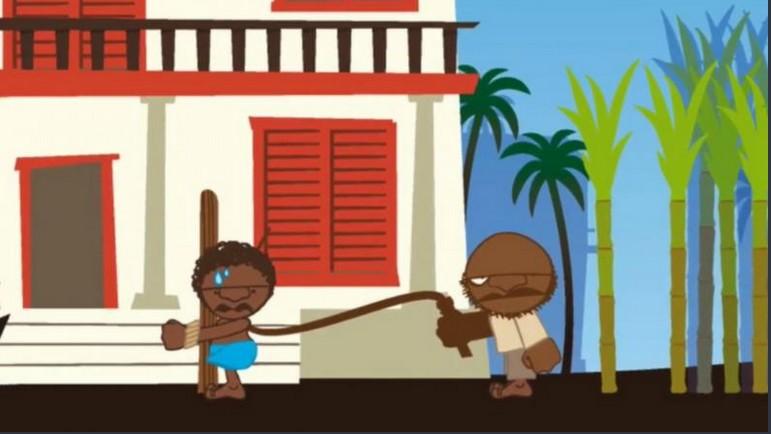 Slavernijspel 'Tocht naar de bevrijding' (NiNsee)